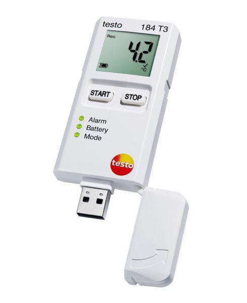 Temperaturdatenlogger zur Transportüberwachung mit USB-Anschluss