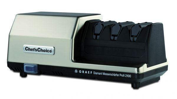 Messerschärfmaschine Diamant Profi 2100 grau/schwarz