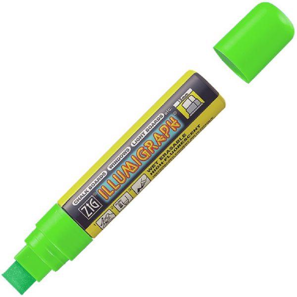 Illumigraph Farbstift 15 mm grün, wasserlöslich