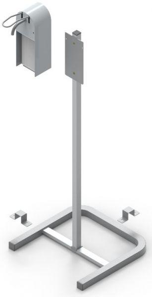 Seifenspender mit Ständer aus Edelstahl - 1000 ml Fassungsvermögen