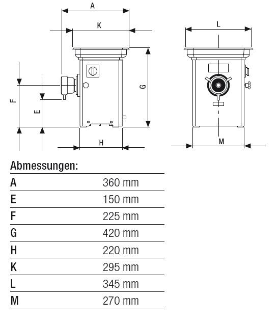 Technische Daten Gilde MeisterWolf MEW 710