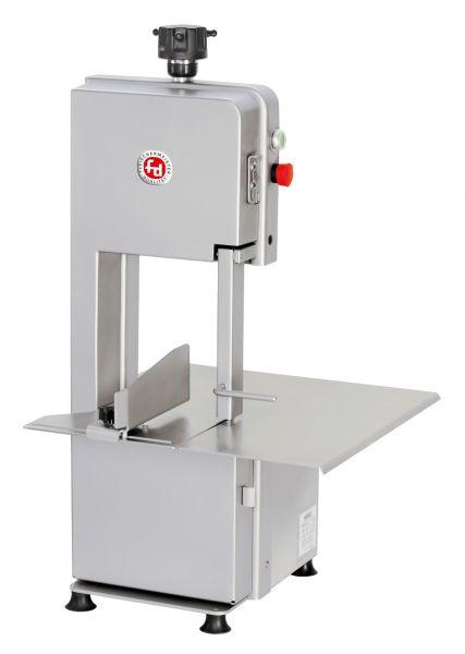 Elektrische Tisch-Knochenbandsäge der Marke fd zum Sägen von Knochen, Koteletts, Gefrorenem etc.