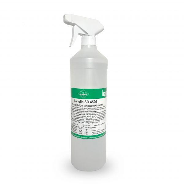 Lenolin SD 4526 Desinfektion mit Sprühkopfaufsatz