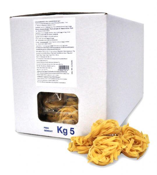 VALDIGRANO Tagliatelle im 5 kg Beutel