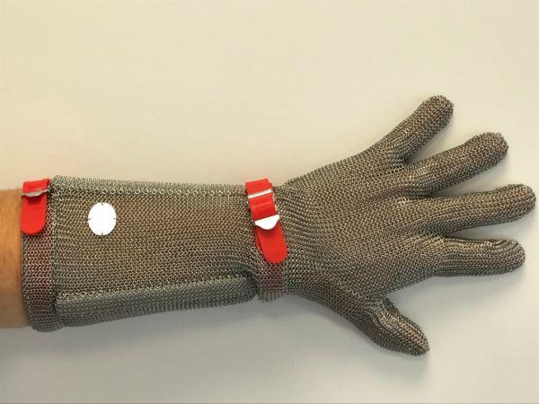 Stechschutzhandschuh lang Größe M