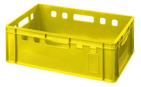 Gelbe E2-Kiste
