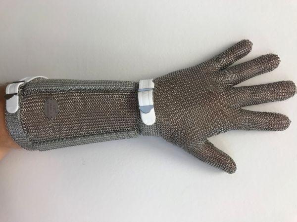 Stechschutzhandschuh lang Größe S