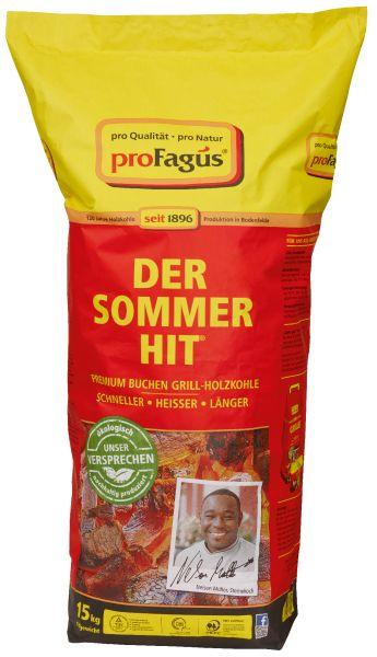 ökologisch und nachhaltig produzierte Premium Buchen Grill-Holzkohle von proFagus