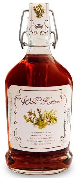 Feinste Spirituose Wilde Kräuter - 6 x 0,5 Liter