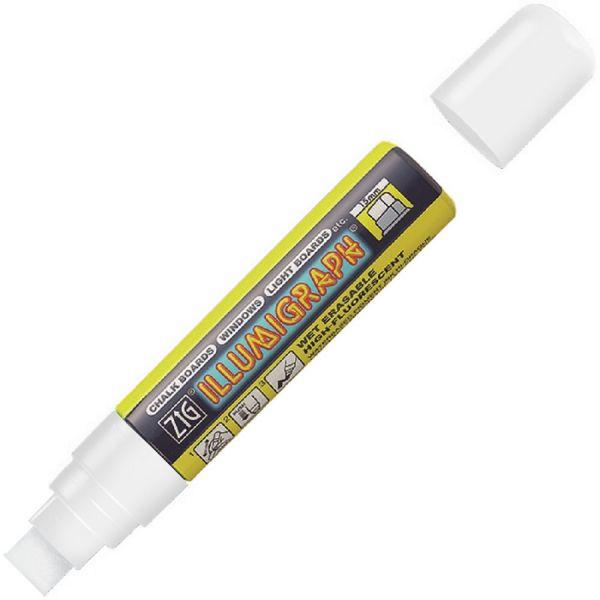 Illumigraph Farbstift 15 mm weiß, wasserlöslich